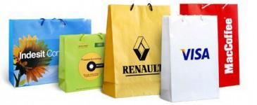 Пакеты с логотипом — виды и применение