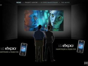 Телефон LG eXpo