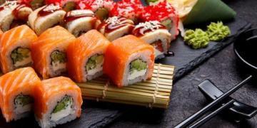 Заказывайте вкусные суши и роллы