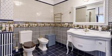 Напольные покрытия: виды плитки для ванной