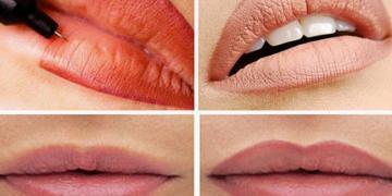 Как проводить перманентный макияж губ самому