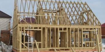 Как построить каркасный дом коттеджном поселке