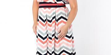 Женская одежда: платья с принтом