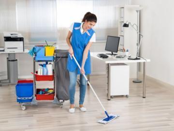 Что представляет собой ежедневная уборка офисов