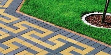 Как самому уложить тротуарную плитку