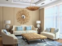 Бежевый цвет в дизайне интерьера