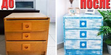 Как при помощи современной фурнитуры обновить старую мебель?