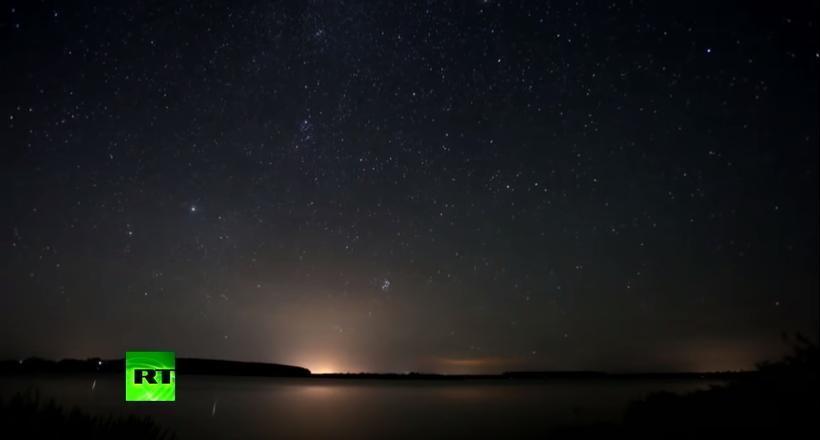 Видео звездопада Персеиды — главного «звездного дождя» года