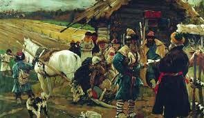 Кривичи, вятичи, русы и другие славянские племена, которые жили на территории Руси