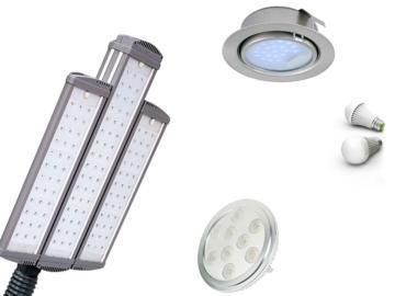 Виды LED-светильников