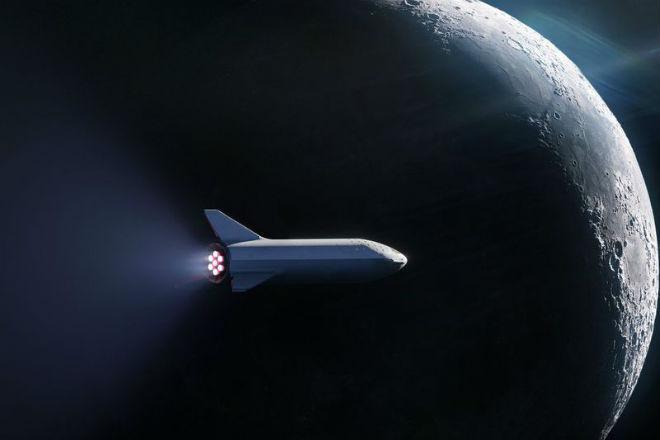 SpaceX отправит космического туриста вокруг Луны
