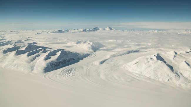 Озеро подо льдами Антарктиды населено живыми существами
