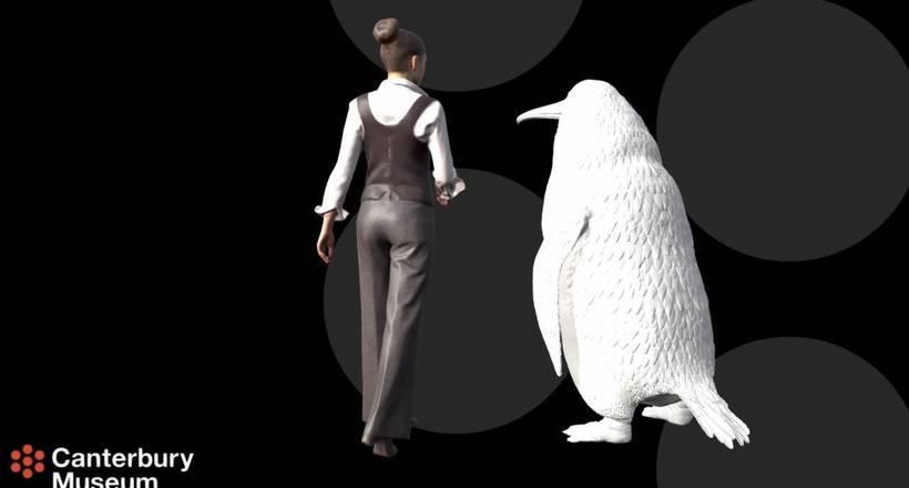 Размерами с человека: ученые нашли останки гигантского пингвина