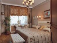 Японские и римские шторы для спальной комнаты