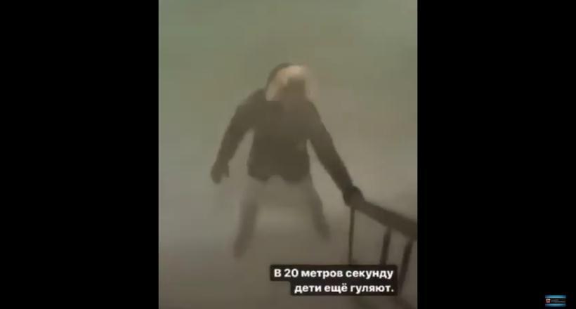 Видео снежного апокалипсиса, случившегося в якутском поселке Тикси