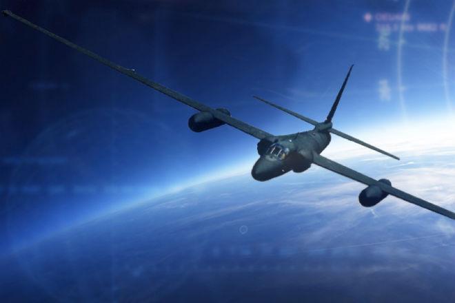 Полет на самолета-шпиона в ближний космос: видео из кабины пилота