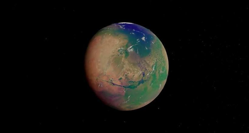 Видео: Как Марс превращается в Землю