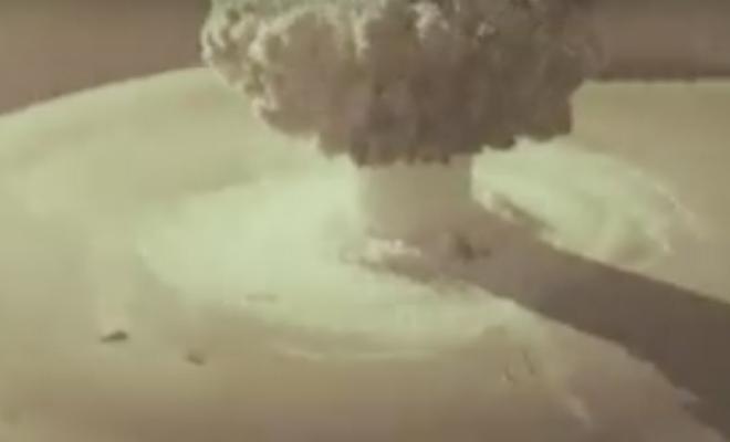 Тест советской атомной торпеды: архивное видео, которое долго было секретным